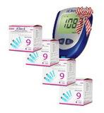 4 упаковки тест-полосок Айчек № 50 + глюкометр Айчек (iCheck)