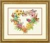 DIMENSIONS Венок из диких цветов (Wildflower Wreath)