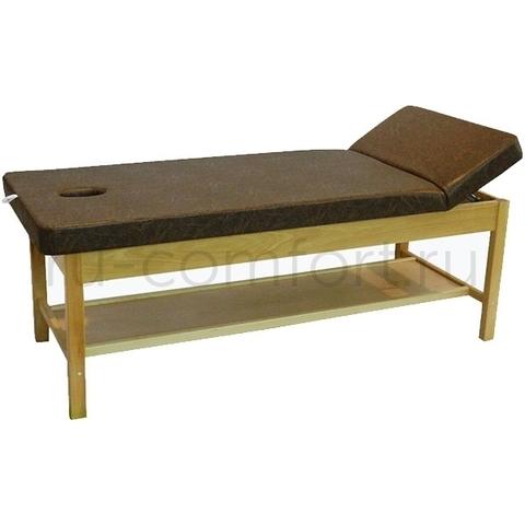 Стационарный массажный стол Форест 190х75см (Бук)
