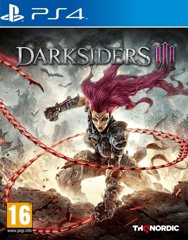 Sony PS4 Darksiders III. Издание первого дня (русская версия)