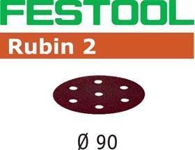 Шлифовальные круги STF D90/6 RU2/50  Festool Rubin 2