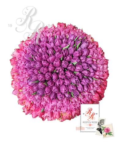 201 Пионовидный тюльпан в коробке