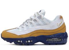 Кроссовки Мужские Nike Air Max 95 White Blue Gold