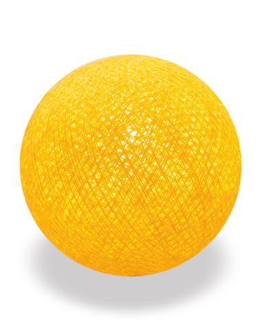 Хлопковый шарик лимон