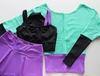 Кофта с фиолетовой талией