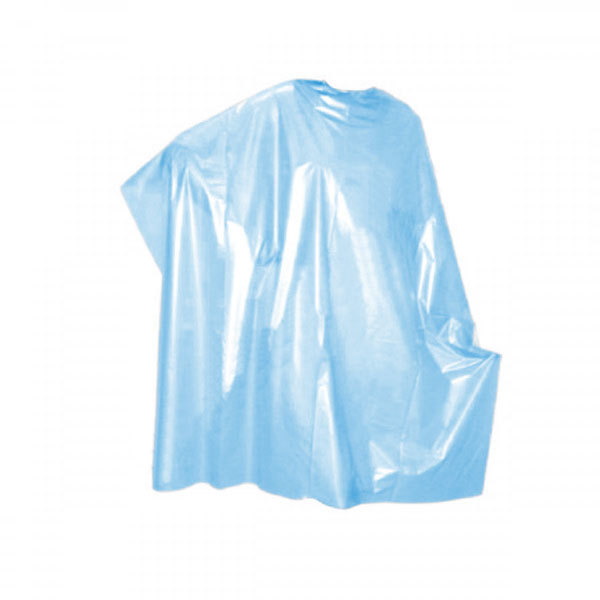 Одноразовые материалы для парикмахера Пеньюар парикмахерский одноразовый голубой 100х160 см., 50 шт./рулон Пеньюар-одноразовый-голубой.jpg