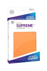 Ultimate Guard - Оранжевые матовые протекторы 80 штук в коробочке