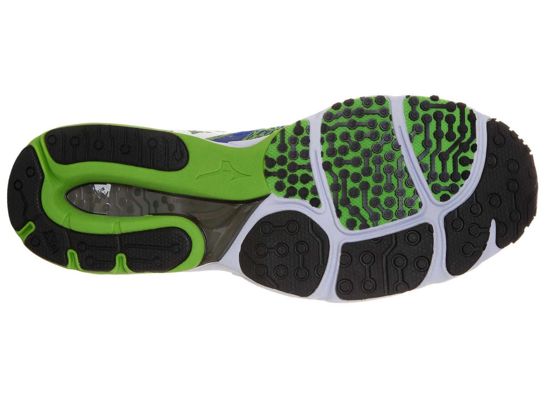 Мужские кроссовки для бега Mizuno Wave Sayonara 2 (J1GC1430 01) синие подошва
