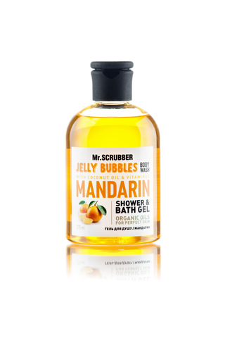 Гель для душа Mr.Scrubber Jelly bubbles Mandarin