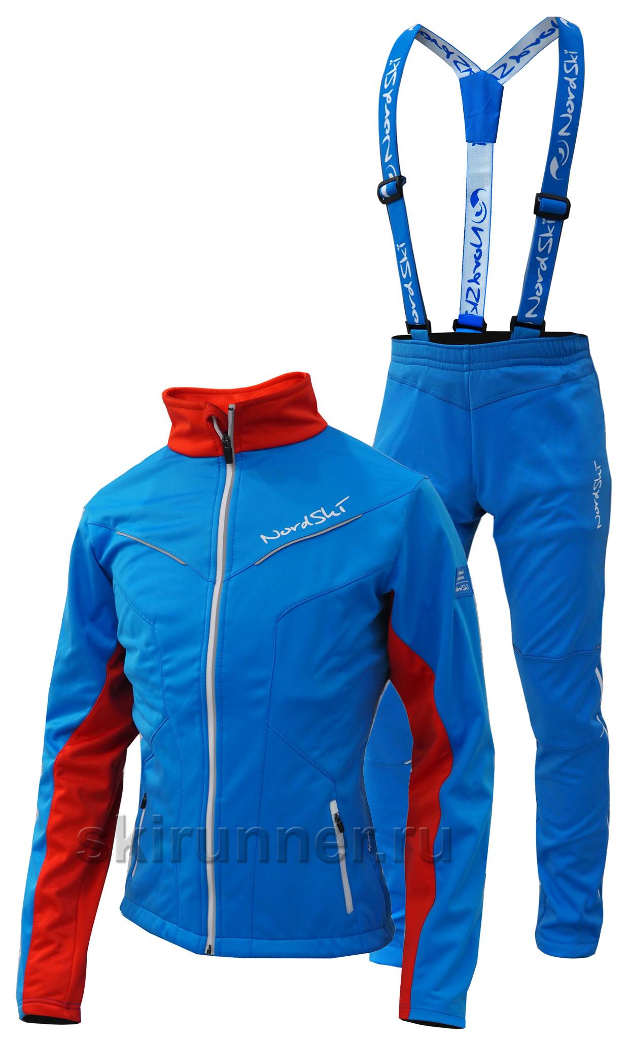 Костюм для лыжного спорта женский доставка