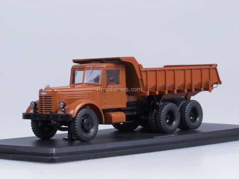 YaAZ-210E dump brown Start Scale Models (SSM) 1:43