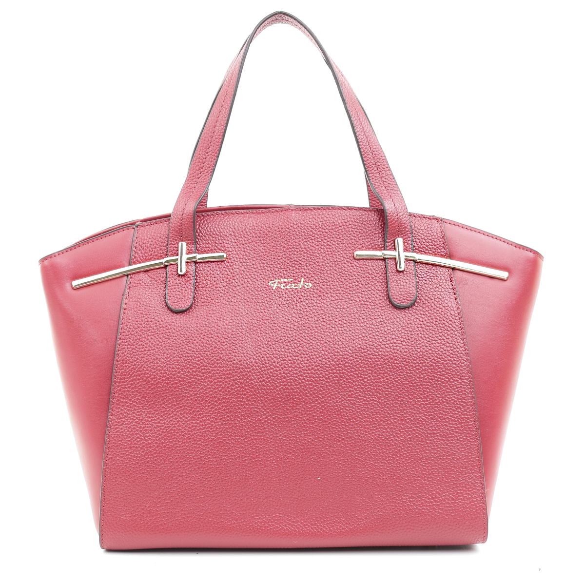 5432 Fiato  кожа красный  (сумка женская)