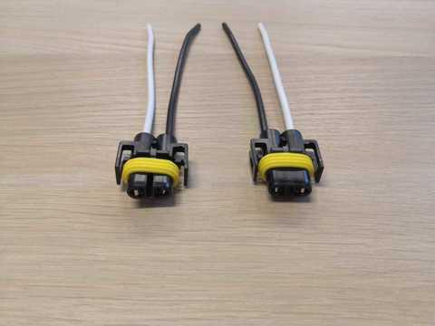 Купить патрон 2 конт. под лампу Н8/Н11 (с проводами) Nord YADA