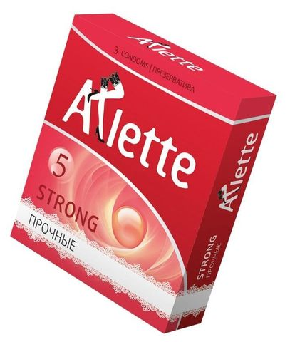 Ультрапрочные презервативы Arlette Strong - 3 шт.