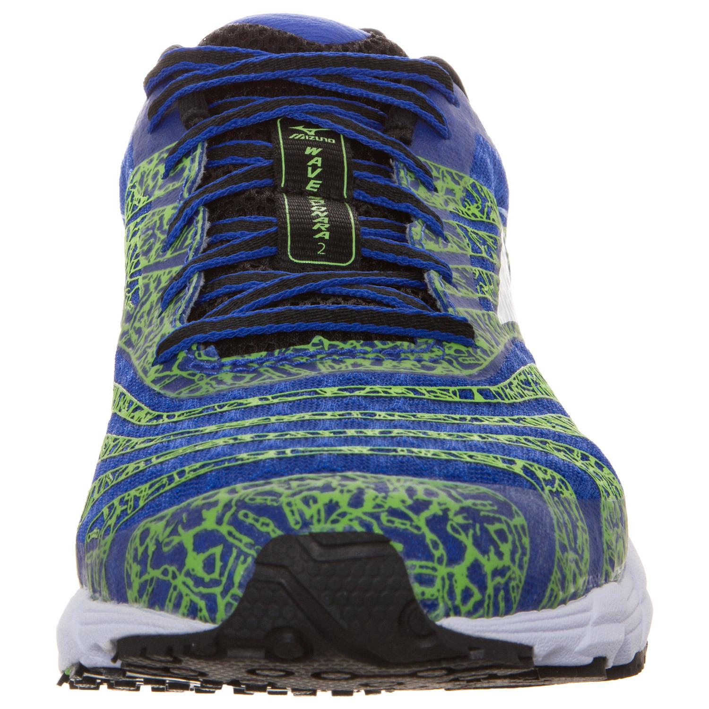 Мужские кроссовки для бега Mizuno Wave Sayonara 2 (J1GC1430 01) синие фото
