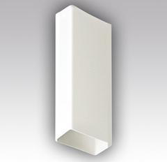 Воздуховод прямоугольный 204х60 1,5 м пластиковый