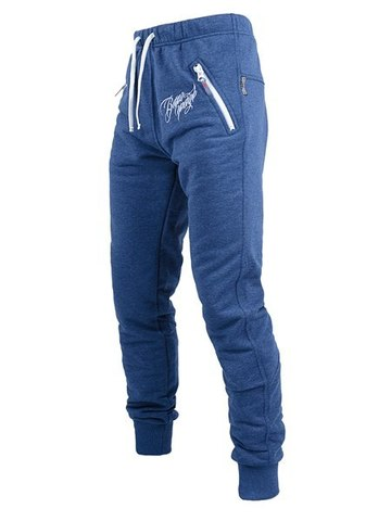 Blue jeans sports trousers