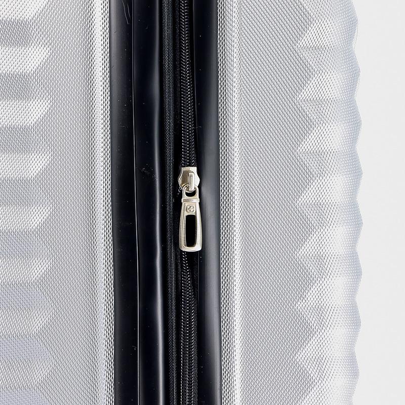 Чемодан WENGER FRIBOURG, цвет серебристый, 33x23x47 см, 35 л. (SW32300452).