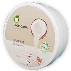 Кокосовый питательный крем  (баттер) для тела TROPICANA