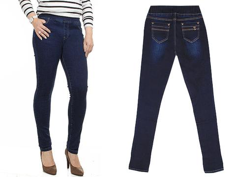 6382 джинсы женские, синие
