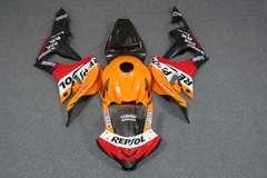 Комплект пластика для мотоцикла Honda CBR 600 RR 07-08 Repsol оранжевый