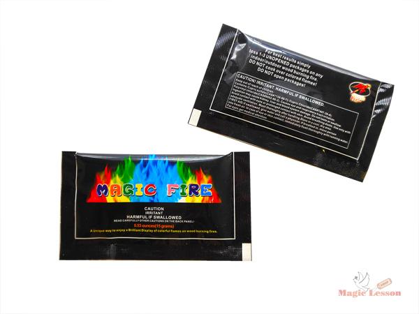 Разноцветный огонь в упаковке