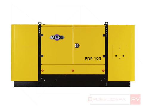 Компрессор ATMOS PDP 190 SKID (-40°С Webasto) 10 бар