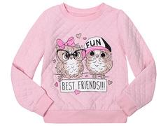 GAC011359 Джемпер для девочек, светло-розовый