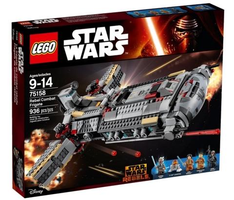 LEGO Star Wars: Боевой фрегат повстанцев 75158 — Rebel Combat Frigate — Лего Звёздные войны Стар ворз