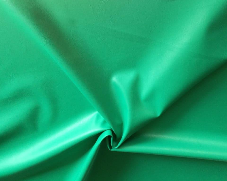 Искусственная кожа зеленая