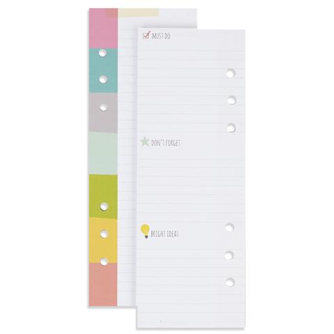 Блок листов для записей  для планнера  - A5 BOOKMARK TABLET
