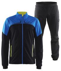 Элитный лыжный костюм Craft Intensity XC Black-Blue мужской