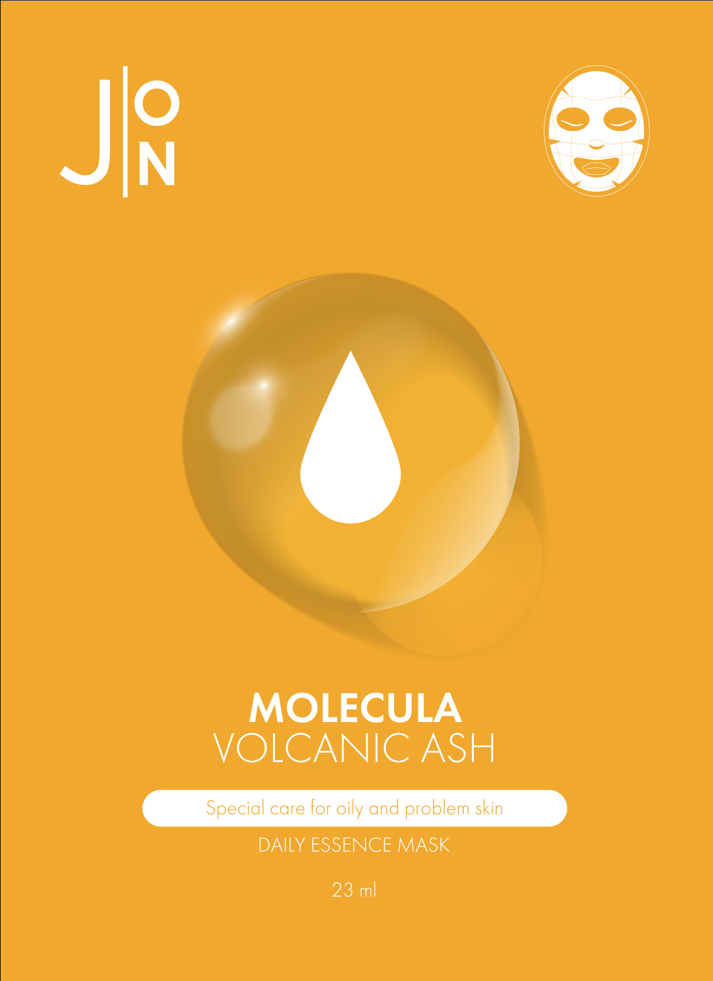 Тканевая маска вулканический пепел J:ON Volcanic Daily Mask Sheet