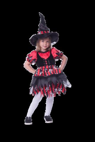 Карнавальный костюм детский  Ведьмочка