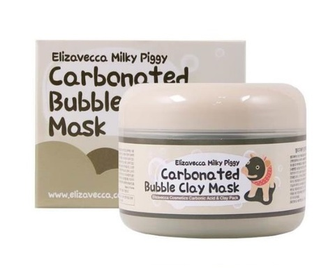 Маска для лица Elizavecca Milky Piggy Carbonated Bubble Clay Pack