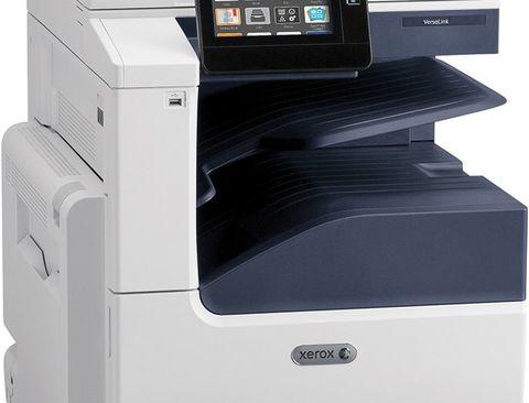 МФУ Xerox VersaLink C7020 - с дополнительный лотком и тумбой