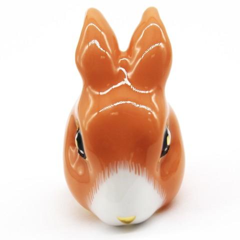 Кольцо Кролик (персиковый)
