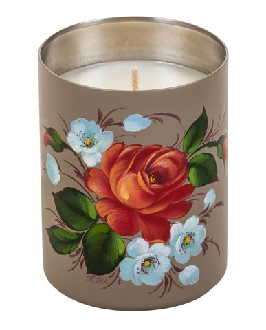 Scented candle with natural wax CA01D121118001