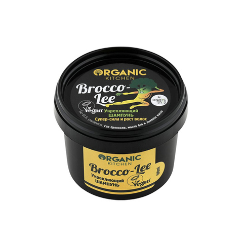 "Шампунь для волос ""Brocco-lee"" | 100 мл | Organic Kitchen"