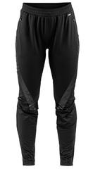 Элитные лыжные брюки Craft Sharp XC 3/4 Zip Black женские