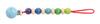 Клипса - держатель, сине-зеленая палитра