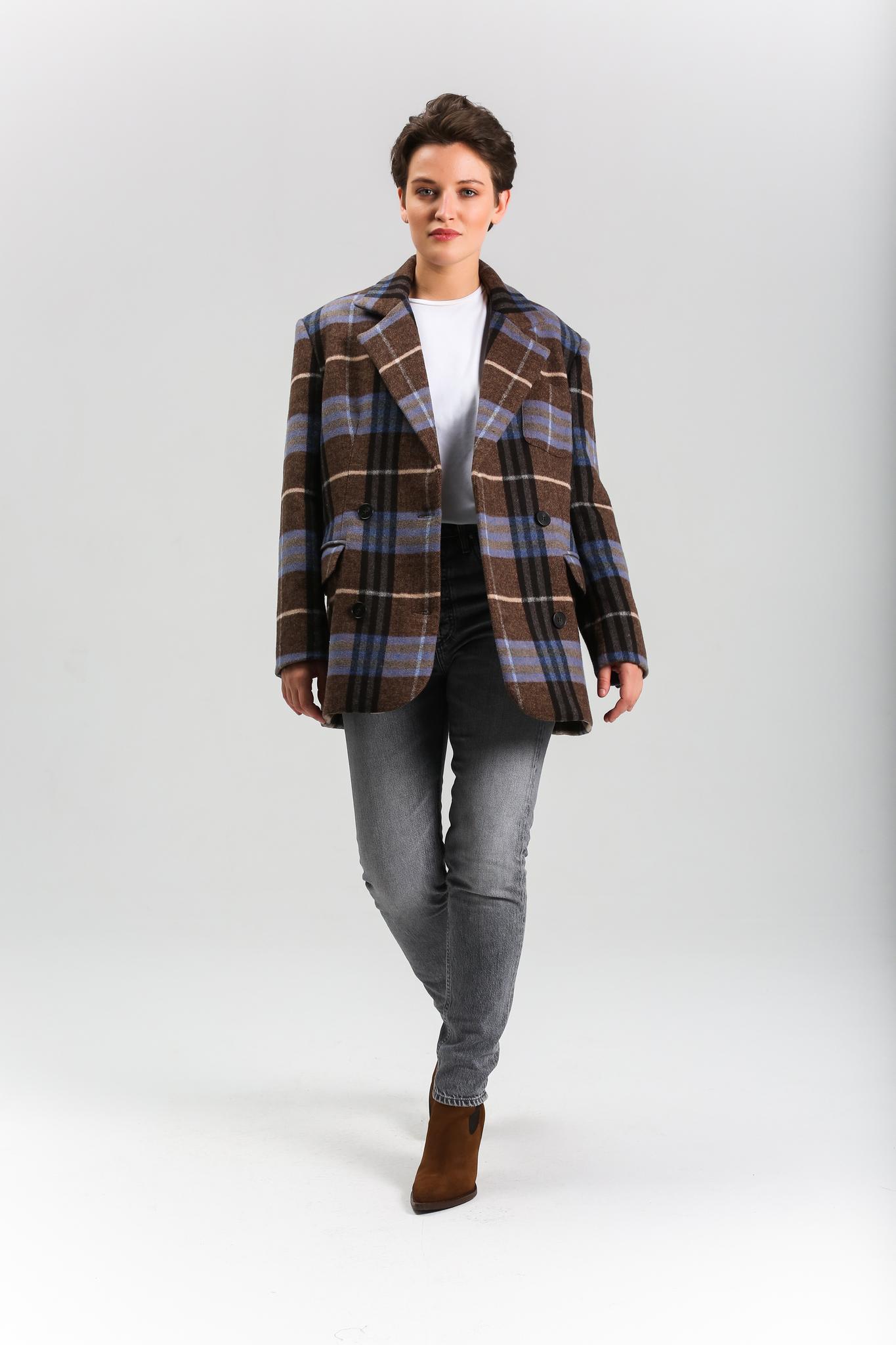 Пиджак клетчатый (FW0333)