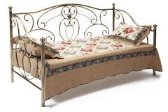 Кровать-кушетка 9910 (MK-2217-AB) Antique Brass