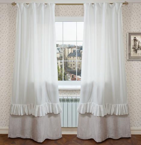 Льняные шторы Монако