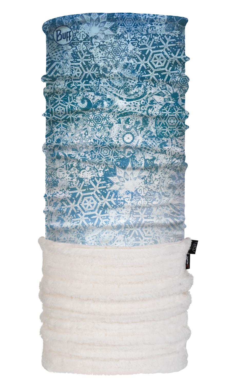 Шарф-трансформер Теплый шарф-труба трансформер Buff Fairy Snow Turquoise 118122.789.10.00.jpg