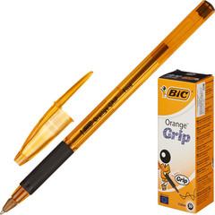 Ручка шариковая BIC Orange grip fine 811925 рез.манжет черный 0.35мм