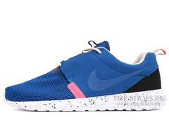 Кроссовки Мужские Nike Roshe One Blue Black Speck