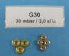 Комплект форсунок (жиклеров) конфорки для Gorenje (Горенье) 237136