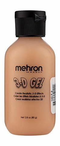 MEHRON 3-D Gel Fleshtone Squeeze Bottle (цвет кожи), 60 мл