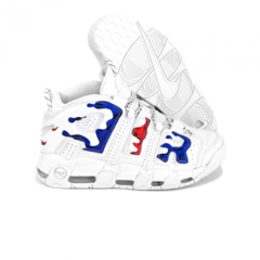 Мужские Nike Air More Uptempo White/Red/Blue
